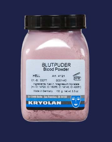 KRYOLAN BLOOD POWDER  10G