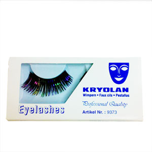 KRYOLAN BLACK/MULTI EYELASHES