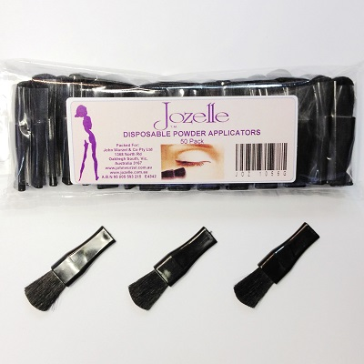 JOZELLE DISPOSABLE POWDER APPLICATORS 50PK