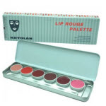KRYOLAN LIP ROUGE PALETTE OF 6 - MOST POPULAR