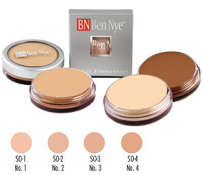 MATTE FOUNDATIONS Special Light Olive (S0) Series