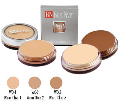 MATTE FOUNDATIONS Warm Olive (WO) Series
