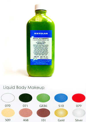 KRYOLAN LIQUID BODY MAKEUP
