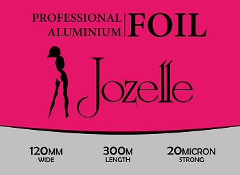 JOZELLE PROFESSIONAL ALUMINIUM FOIL 120MM WIDE 300M LENGTH