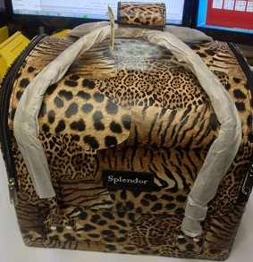 JOZELLE COSMATIC BAG LEOPARD