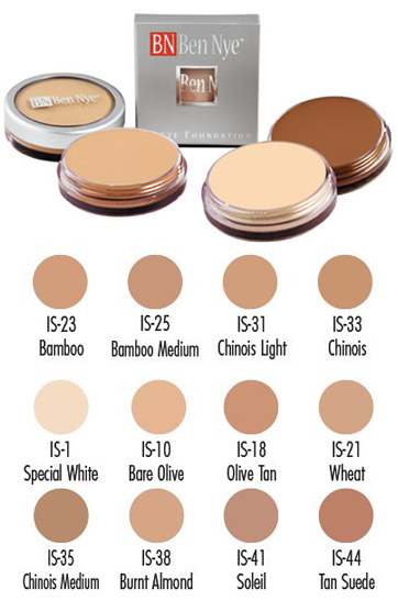 MATTE FOUNDATIONS International (IS) Series