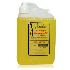 JOZELLE AROMATIC MASSAGE OILS 1 LITRE - LEMON SHOWER