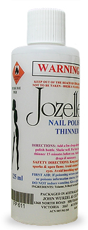 JOZELLE NAIL POLISH THINNER 125ML