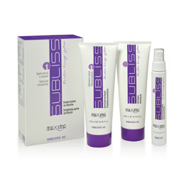MAXIMA SUBLISS N.2 STRAIGHTENING SYSTEM PROCESSED, SENSITISED AND FINE HAIR KIT