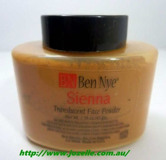 SIENNA TRANSLUCENT FACE POWDERS