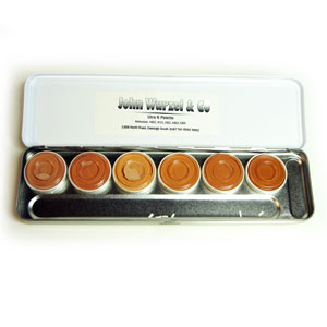 KRYOLAN ULTRA FOUNDATION PALETTE 6