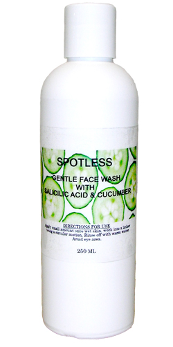 SPOTLESS FACE WASH WITH SALICILIC ACID & CUCUMBER 250ml