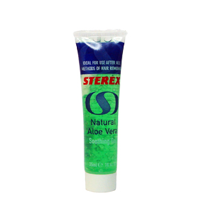 STEREX SOOTHING GEL NATURAL ALOE VERA
