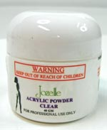 JOZELLE ACRYLIC POWDER - CLEAR 40g