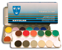 KRYOLAN AQUACOLOR PALLETES