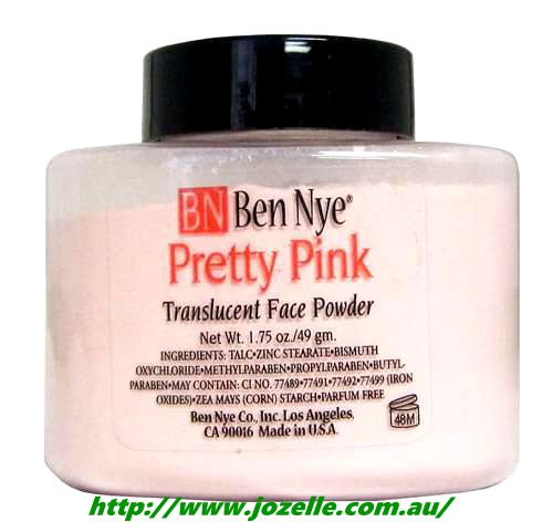 PRETTY PINK TRANSLUCENT FACE POWDERS