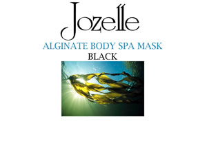 27.JOZELLE ALGINATE SPA BODY MASK - BLACK 1KG
