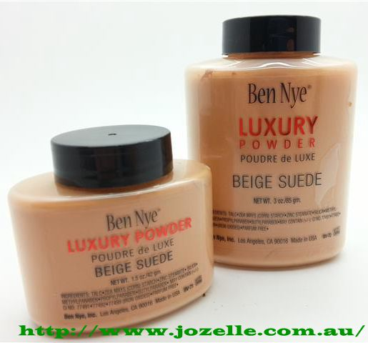 BEIGE SUEDE LUXURY POWDERS