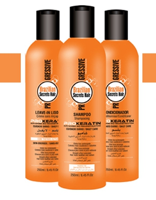 Brazilian Secrets Hair Pro-Keratin Kit 240ml x 3