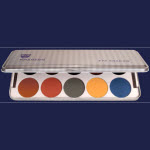 KRYOLAN EYESHADOW COMPACT PALETTE OF 10 - MOST POPULAR