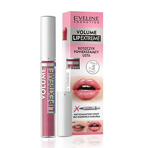 EVELINE VOLUME  LIP GLOSS DISP 30P 4x6 COLORS=24+6 TESTERS