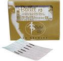 BALLET GOLD 1 PIECE NEEDLES (DISPOSABLE) F3 PK50