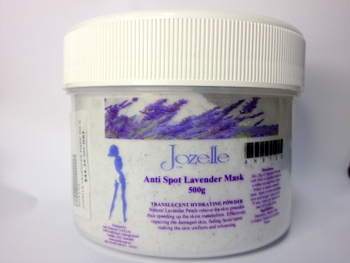 JOZELLE ANTI SPOT LAVENDER MASK 500G - TRANSLUCENT HYDRATING POWDER