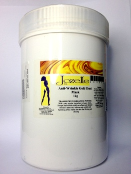 JOZELLE ANTI-WRINKLE GOLD MASK 1KG - TRANSLUCENT HYDRATING POWDER