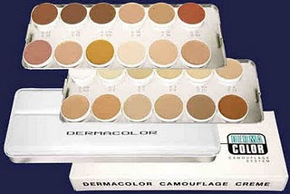 DERMACOLOR PALETTE OF 24 STAGE COLORS