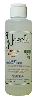 JOZELLE ASTRINGENT LOTION  250ML - For oily and problematic skin