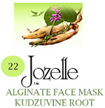 22.JOZELLE ALGINATE FACE MASK 250G /KUDZUVINE ROOT-IMPROVES MICRO-CIRCULATION