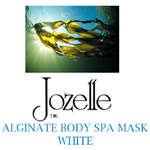 28.JOZELLE ALGINATE SPA BODY MASK - WHITE 1KG