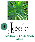 4.JOZELLE ALGINATE FACE MASK 250g /ALOE-PROTECTS AGAINST UVA,UVB
