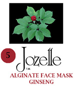 5.JOZELLE ALGINATE FACE MASK 250g/ GINSENG - PROVIDES NUTRIENTS TO SKIN
