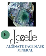 6.JOZELLE ALGINATE FACE MASK 250g /MINERAL-SPEEDS UP METABOLISM & ANTI AGEING