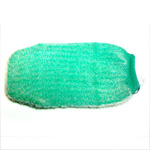 JOZELLE MASSAGE MITT - PASTEL GREEN