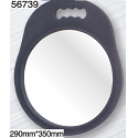 JOZELLE MIRROR 290 BLACK EVA