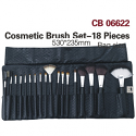 JOZELLE COSMETIC BRUSH SET - 18 PIECES