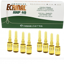 ECRINAL® Hair Ampoules with ANP® 40 tricholipids - Box of 8/8x5 ml