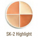 Ben Nye SK-2 Cream Highlight Wheel