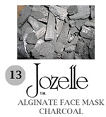 13.JOZELLE ALGINATE FACE MASK 1KG /CHARCOAL-ABSORBS EXCESS OILS, CLEANSING